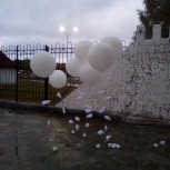 Оформление большими шарами, Саратов