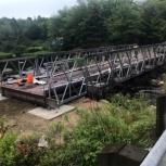 Автодорожный быстровозводимый мост., Саратов